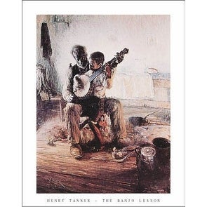 ''Banjo Lesson'' by Henry Tanner Huntington Graphics Art Print (28 x 22 in.)