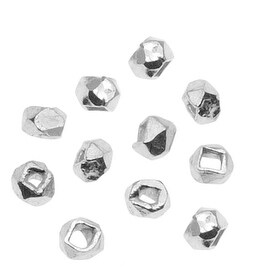 Bali Style Sterling Silver Faceted Nugget Beads 2mm (24)