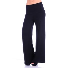 Simply Ravishing Women's Solid High Waist Palazzo Pant