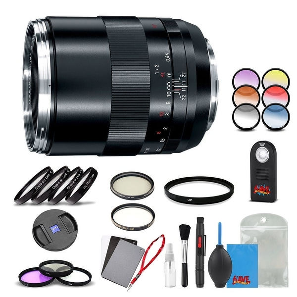 Zeiss Makro-Planar T* 100mm f/2 ZE Lens for Canon - 1762-852 with Cleaning Accessory Kit and 2 Year Extended Warranty