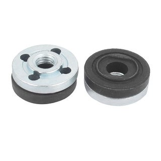 2 Pair Round Clamp Inner Outer Nuts Flange Fixing for Makita 9523 Angle Grinder