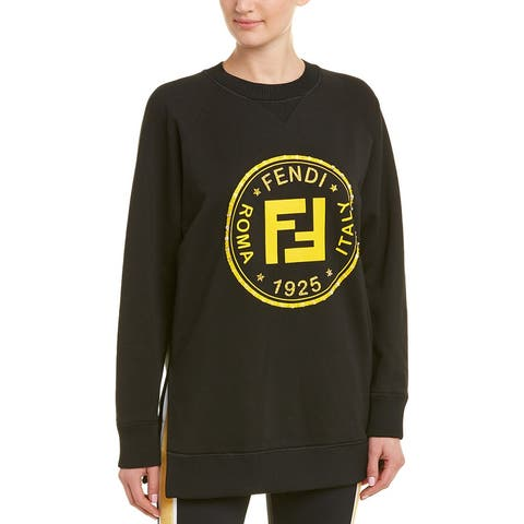 Fendi Beaded Graphic Sweatshirt