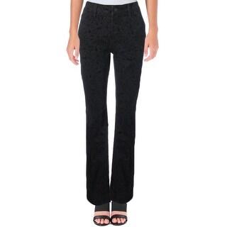 NYDJ Womens Skinny Jeans Velvet Jacquard
