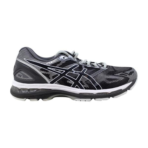 online retailer c240f 83852 Shop Asics Gel-Nimbus 19 Carbon/White-Silver T700N 9701 ...