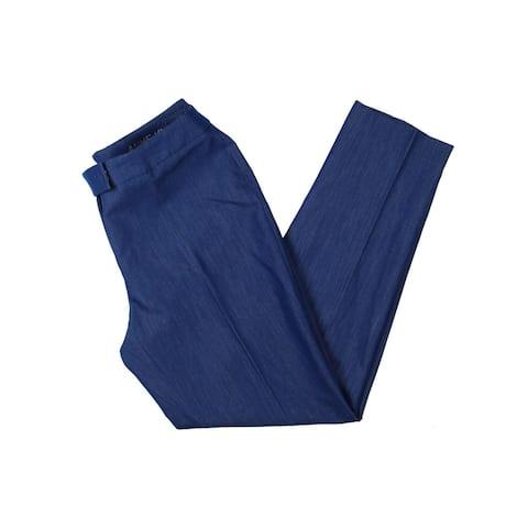 Anne Klein Womens Ankle Pants Soft Work Wear