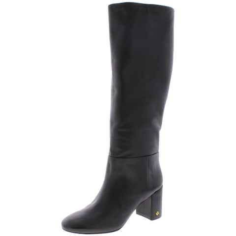 Tory Burch Womens Brooke Knee-High Boots Leather Slouchy
