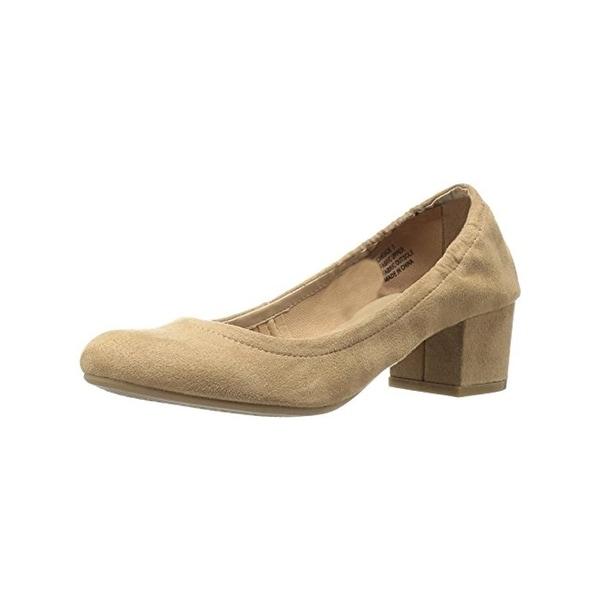Zigi Soho Womens Candace Pumps Faux Suede Block Heel