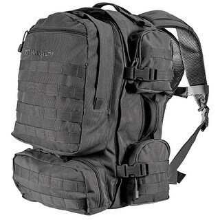Kiligear Tactical Assault Pack, Black Outdoor Hunting Backpack, Camping Daypack