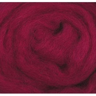 "Magenta - Wool Roving 12"" .22Oz"