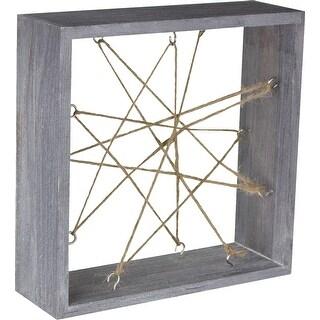 Air Plant Wood Frame