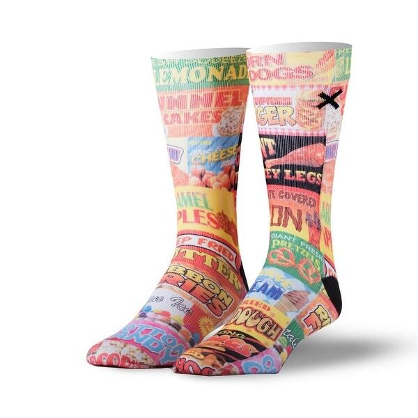 Odd Sox Fair Food Socks, 6-13