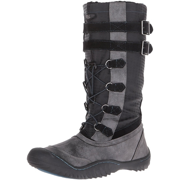 JBU Womens Whitney Closed Toe Mid-Calf Cold Weather Boots
