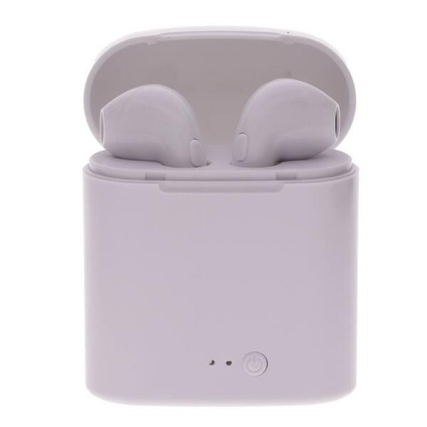 Shop Dual Wireless Bluetooth Earbud Headset In Ear Earphone For Apple Iphone X 8 7 Us Overstock 23133497