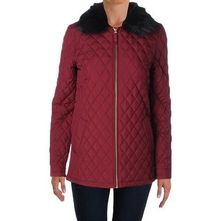 Tommy Hilfiger Womens Jacket Quilted Full Zip - xs
