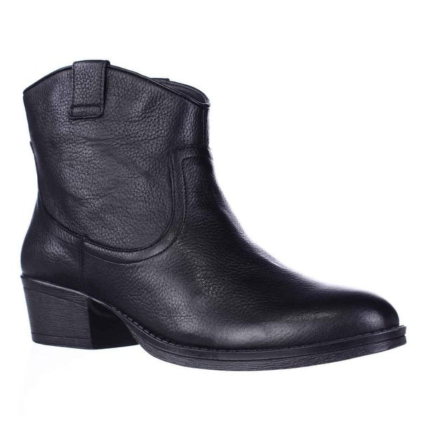 Kenneth Cole REACTION Hot Step Western Boots, Black