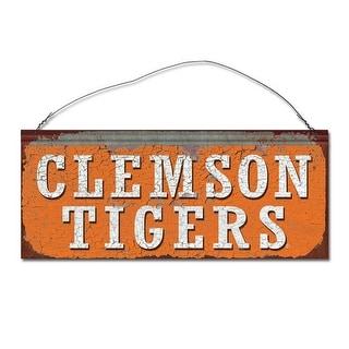 Clemson University Tigers Small Tin Sign