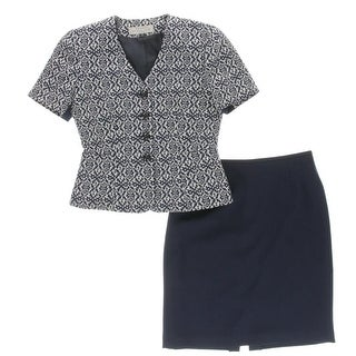 Tahari ASL Womens Petites Skirt Suit 2PC Pattern - 2p