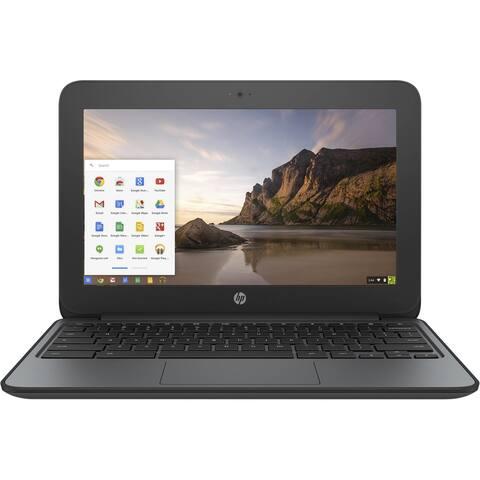 """HP V2W30UTABA Intel Celeron N2840 X2 2.16GHz 4GB 16GB SSD 11.6"""",Black(Refurbished)"""