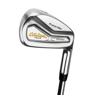 Assembled Powerbilt Citation Tour Forged Irons (RH 4-GW, R Flex)