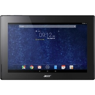 """Acer NT.L9YAA.001 Acer ICONIA A3-A30-18P1 16 GB Tablet - 10.1"" - In-plane Switching (IPS) Technology - Wireless LAN -"