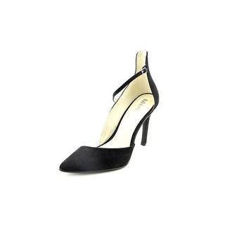 Mia Mona Pointed Toe Canvas Heels