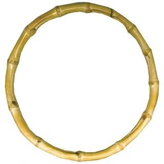 """Bamboo Bag Handle 7-1/2"""" Round-Natural"""