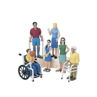 Marvel Education Diverse Abilities, Pretend Play Figure Set, Set of 6