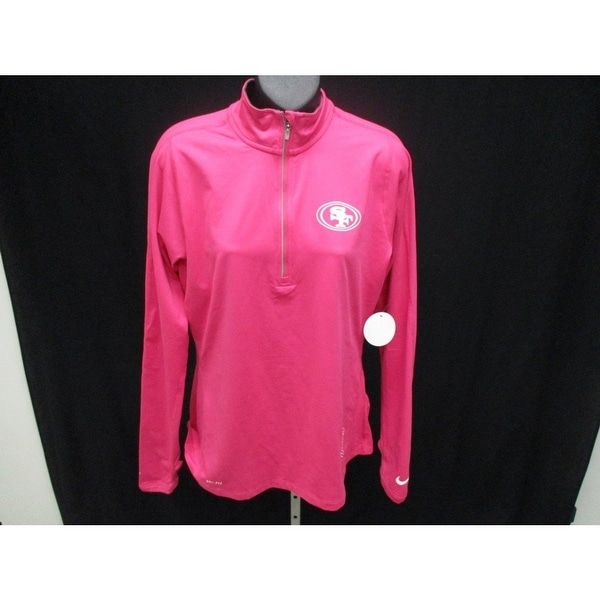 250a0faf San Francisco 49ers Womens Size M Medium Nike Dri-Fit Long Sleeve Shirt