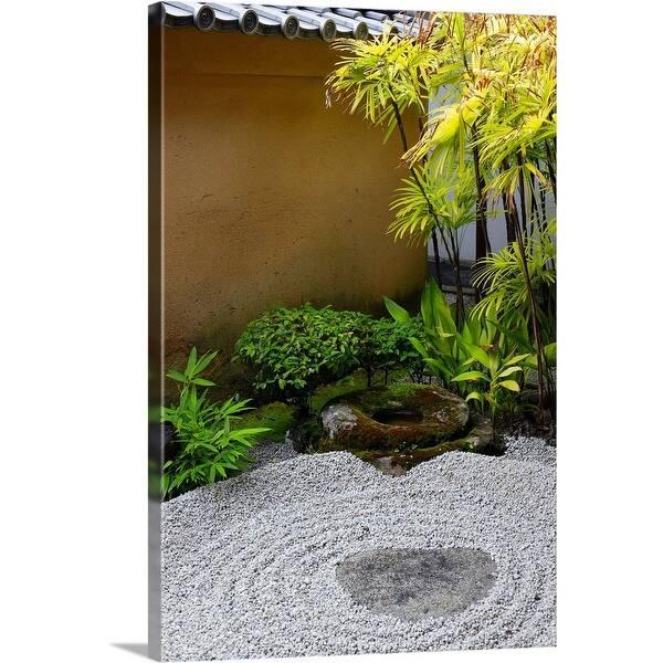 Shop Small Zen Garden Ryogen In Canvas Wall Art Overstock