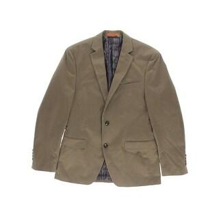 Tallia Mens Twill Notch Collar Sportcoat - 38R