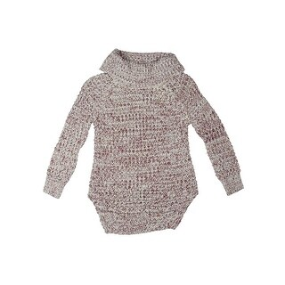 Poof Girls Pullover Sweater Cowl Neck