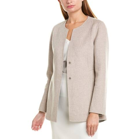 Kinross Wool & Cashmere-Blend Jacket