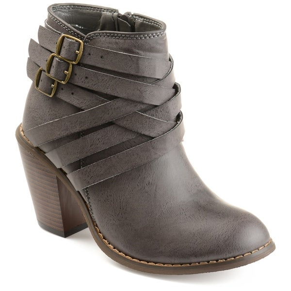 Multi Strap Ankle Boots