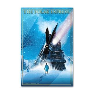 The Polar Express - Picking up the Boy (Acrylic Wall Clock)