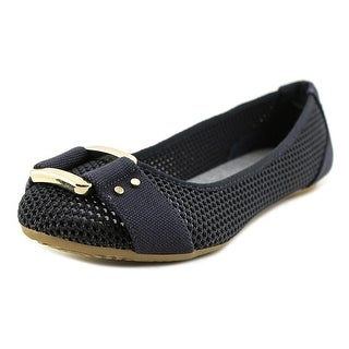 Dr. Scholl's Frankie Mesh Women  Round Toe Synthetic Blue Flats