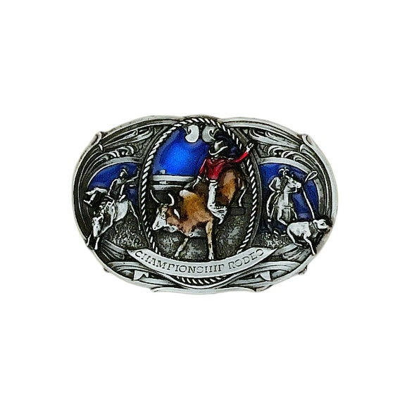 Small Championship Rodeo Belt Buckle - One size