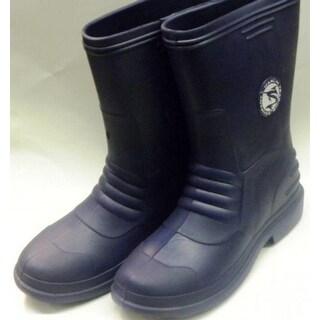 Marlin Male Lightweight Deck Boots, Navy, 11