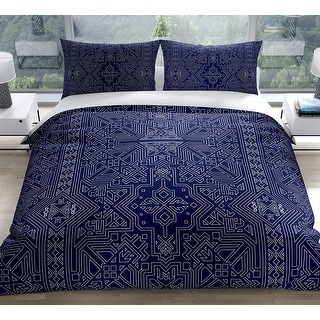 Link to SULTANATE NAVY Duvet Cover by Kavka Designs Similar Items in Duvet Covers & Sets