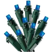 Celebrations 47623-71 Micro LED Light Set, 16', 50 Blue Lights