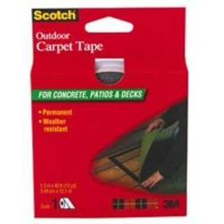 "Scotch CT3010DC Concr/Patio Carpet Tape, 1-3/8""x40'"