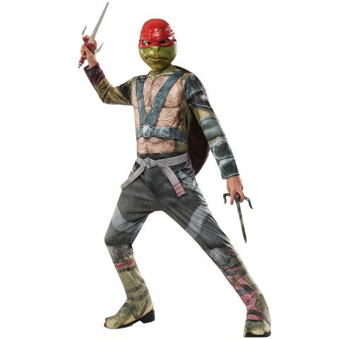 Rubies TMNT 2 Raphael Child Costume - Green/Red