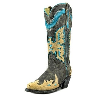 Corral R2289   Pointed Toe Leather  Western Boot