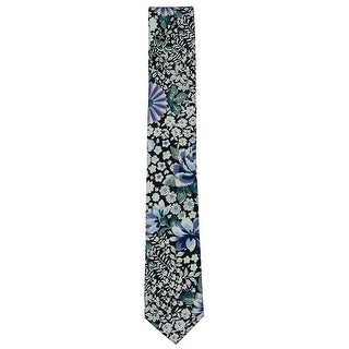 Link to bar III Mens Floral Self-tied Necktie, blue, One Size - One Size Similar Items in Ties