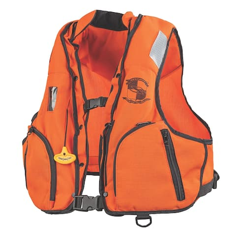 Stearns manual inflatable vest w/nomex fabric i249 sm/md