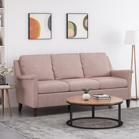 Dupont Contemporary 3 Seater Fabric Sofa