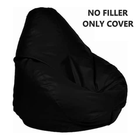 Ample Decor Leatherette Bean Bag Cover