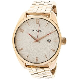 Nixon Women's Bullet A4182183 Rose-Gold Stainless-Steel Fashion Watch