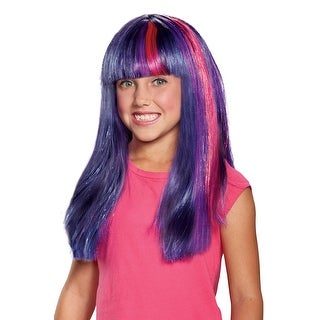 Disguise Twilight Sparkle Movie Child Wig - Purple