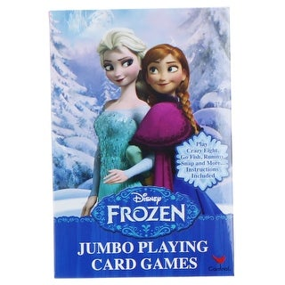 Disney Frozen Jumbo Playing Cards - multi