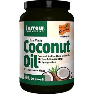 Jarrow Formulas - Coconut Oil 100% Organic, Extra Virgin - 32 oz Fluid